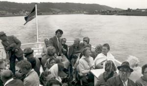 Erster Ausflug des Seniorenclubs 1977