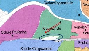 Planskizze: Stadt Regensburg
