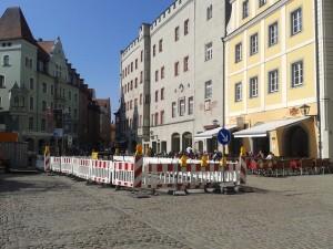 Baustelle Haidplatz