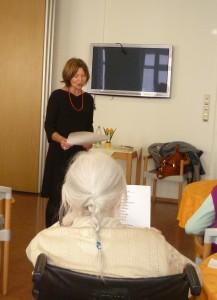 Margit Wild im AWO-Seniorenheim